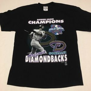 2001 Arizona Diamondbacks mlb champions t shirt